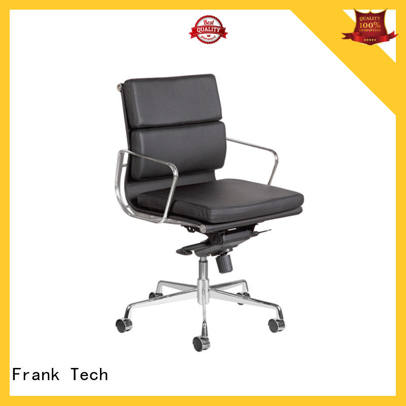 Frank Tech modern brown leather chair leather for hotel