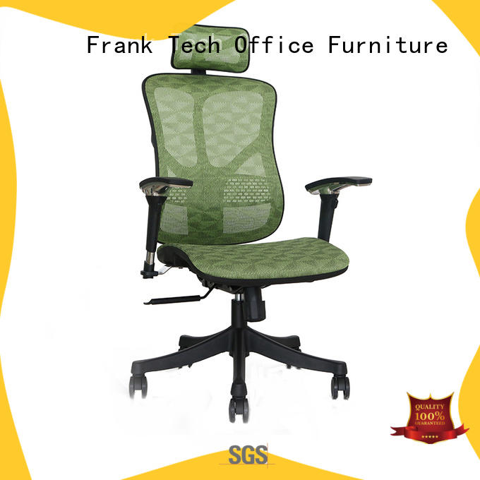 Frank Tech ergonomic chairs with sophisticated look for bank