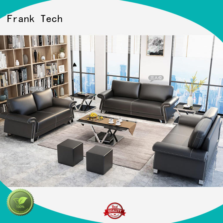 frame synthetic quality office sofa modern Frank Tech