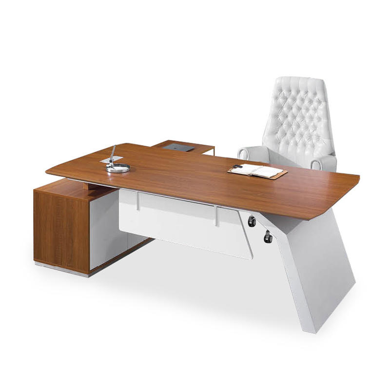Frank Tech Modern Style L Shaped Wooden Executive