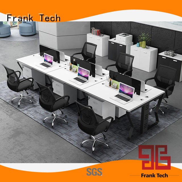comfortable computer workstation furniture Aluminum Base for airport Frank Tech