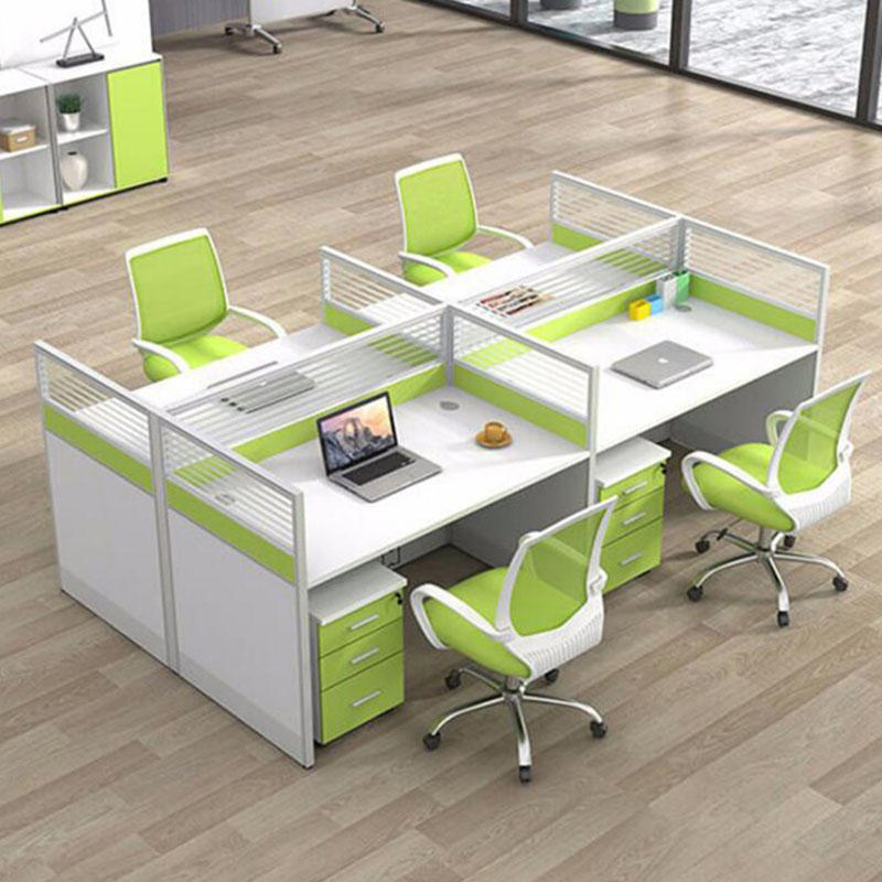 Simple Style Glass Call Center Modular Office Cubicles FK-2006