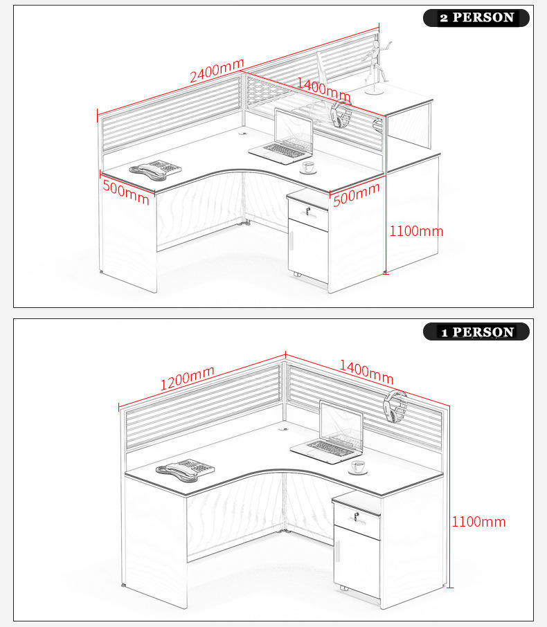 person modular cubicles long-term-use for hotel