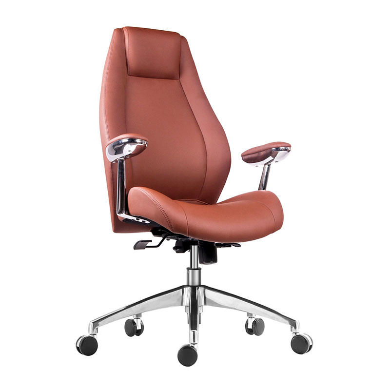 WorkWell Comfortable High Back Luxury Wooden Furniture Executive Office Chair For Boss AF-9931