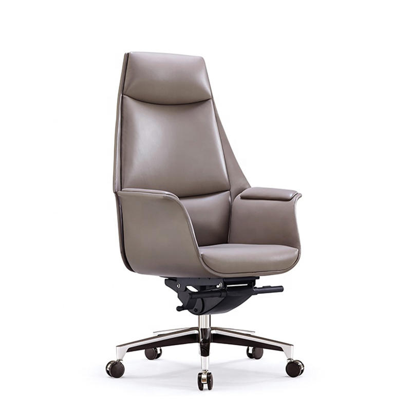 Leather High Back Executive Office Chair Leather Swivel Office Chair FK-5004
