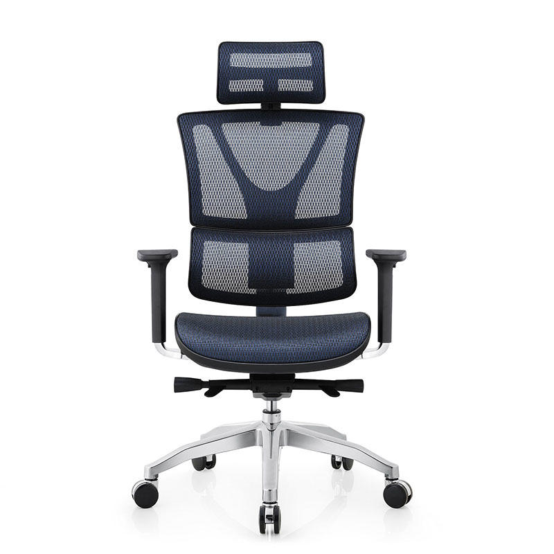 Aluminum Adjustable Mesh Ergonomic Executive Chair AD-806