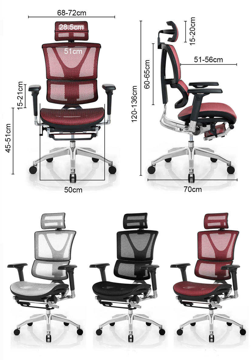 MultiColor ergonomic office chair multifunctional with resists stains for hospital