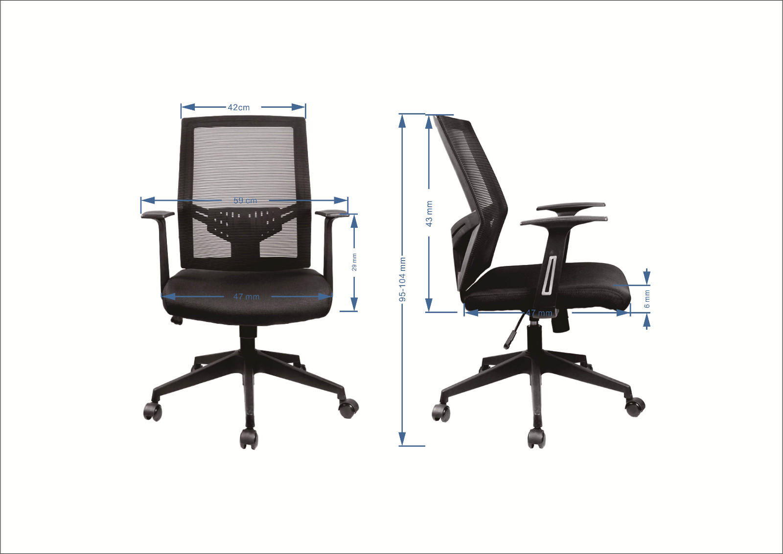 hot selling staff chair Frank Tech