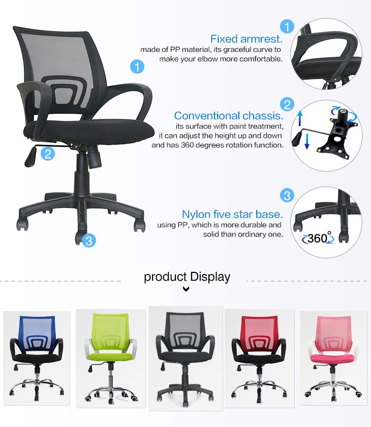 Low Back Office Computer Desk Chair-6