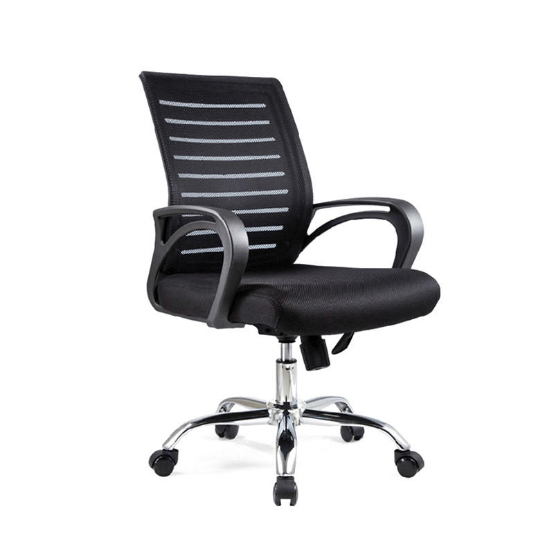 Medium back computer task chair swivel mesh office chair