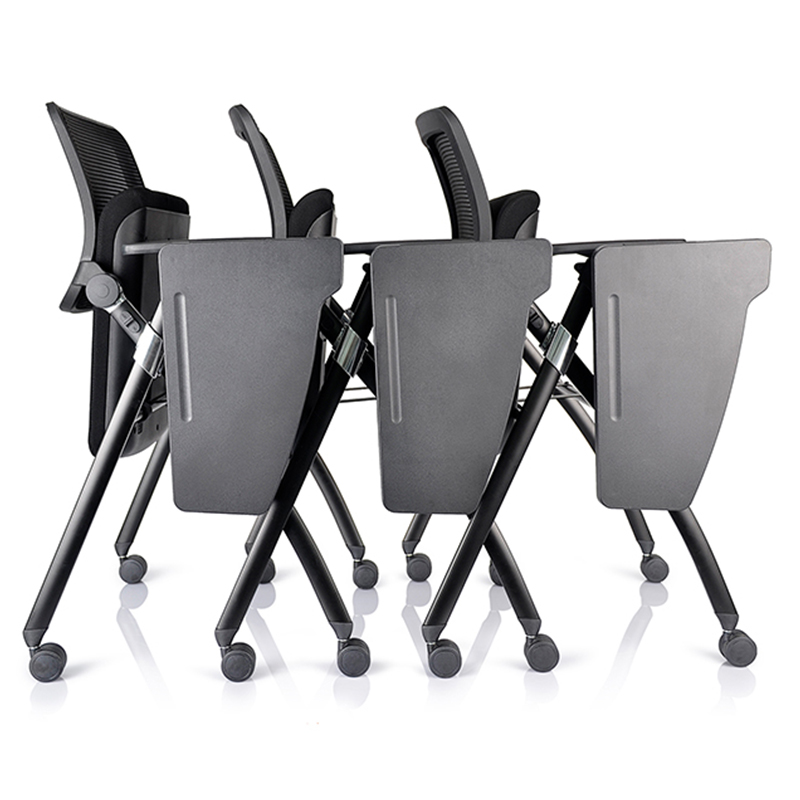 Foldable Office Chair Student Training Chair-4