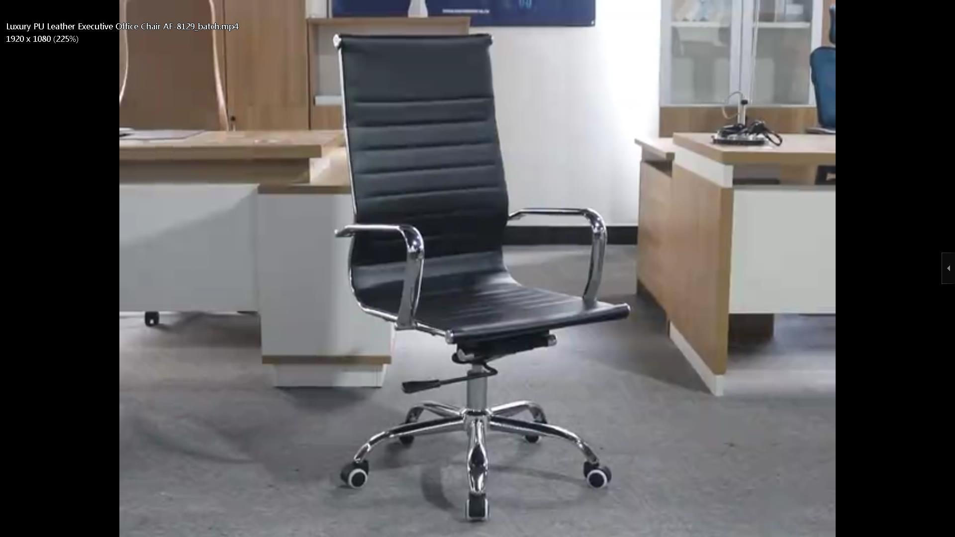 Luxury PU Leather Executive Office Chair AF-8129