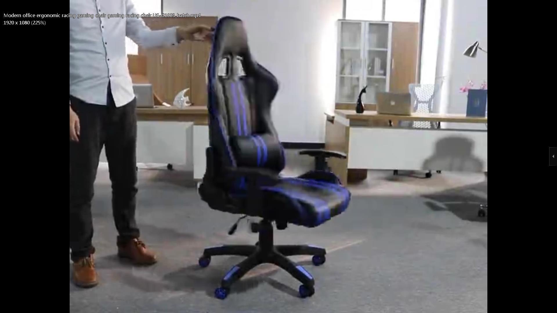 Modern office ergonomic racing gaming chair gaming racing chair US-G1003