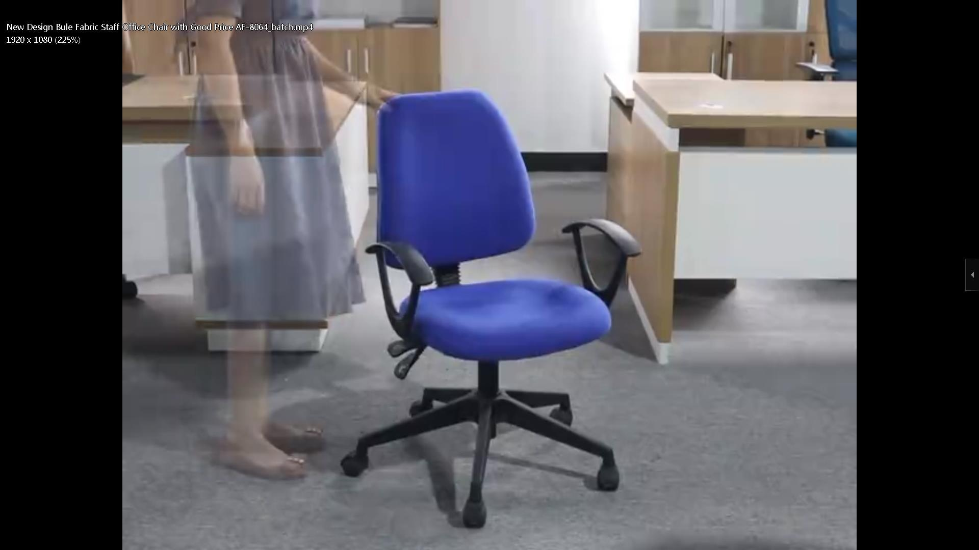 New Design Bule Fabric Staff Office Chair with Good Price AF-8064