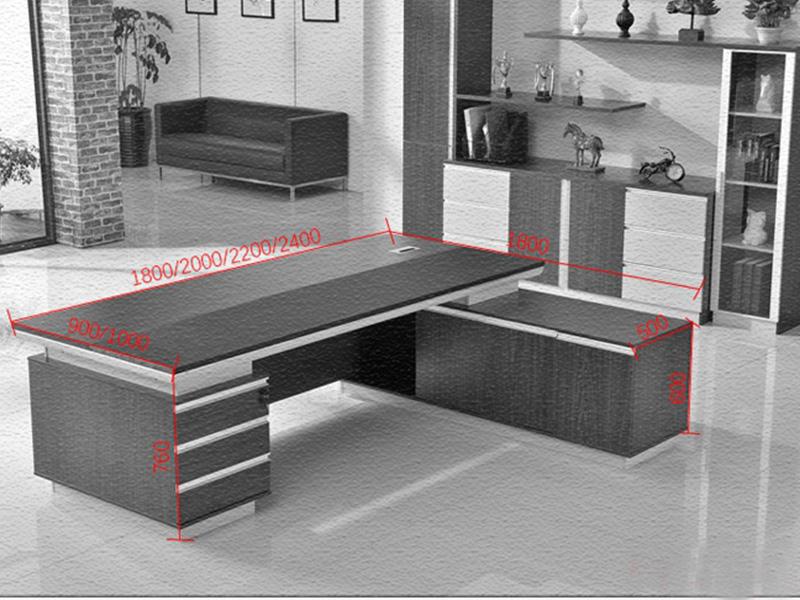 Modern Design CEO Executive Office Table Wooden Manager Work Desk Office Desk FK-1006-4