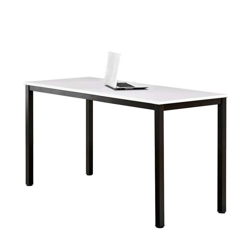 Modern Office Table Desk Simple Design Metal Frame Wooden Office Table Executive Single Computer Desk FK-H001-4
