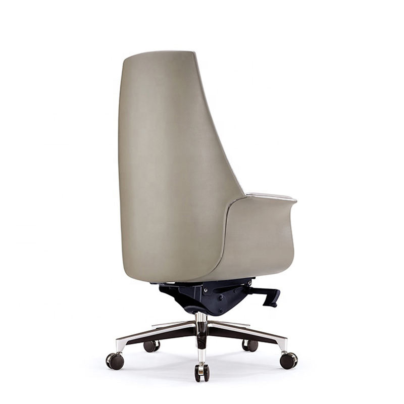 Leather High Back Executive Office Chair Leather Swivel Office Chair FK-5004-4