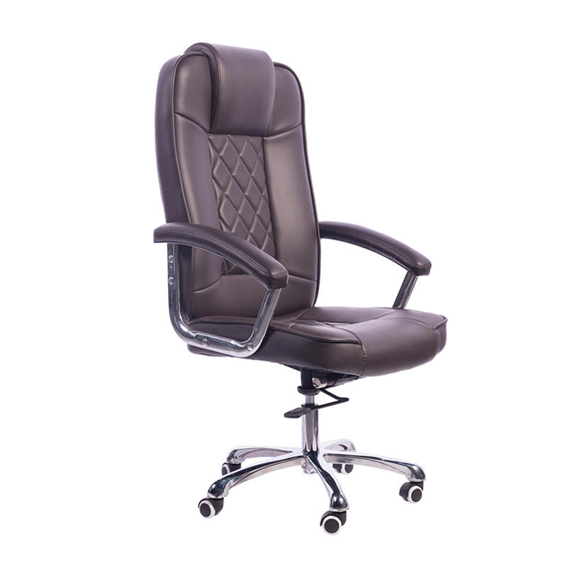high teach black leather office chair order now for airport Frank Tech