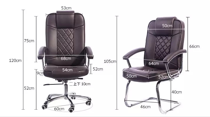 Frank Tech swivel modern leather chair China Factory-5