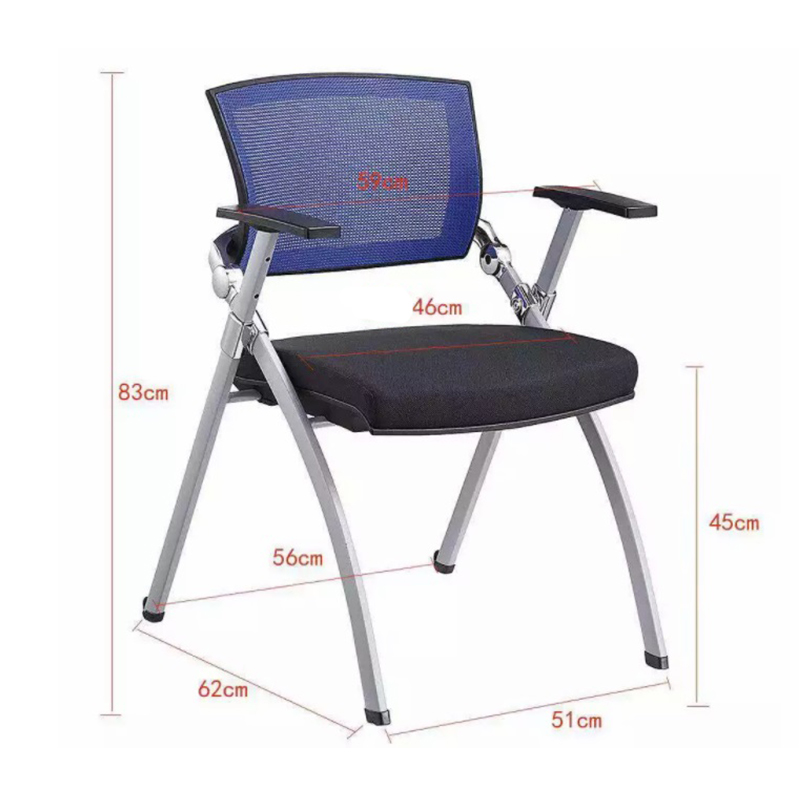 pp office training chairs armless for home Frank Tech-5