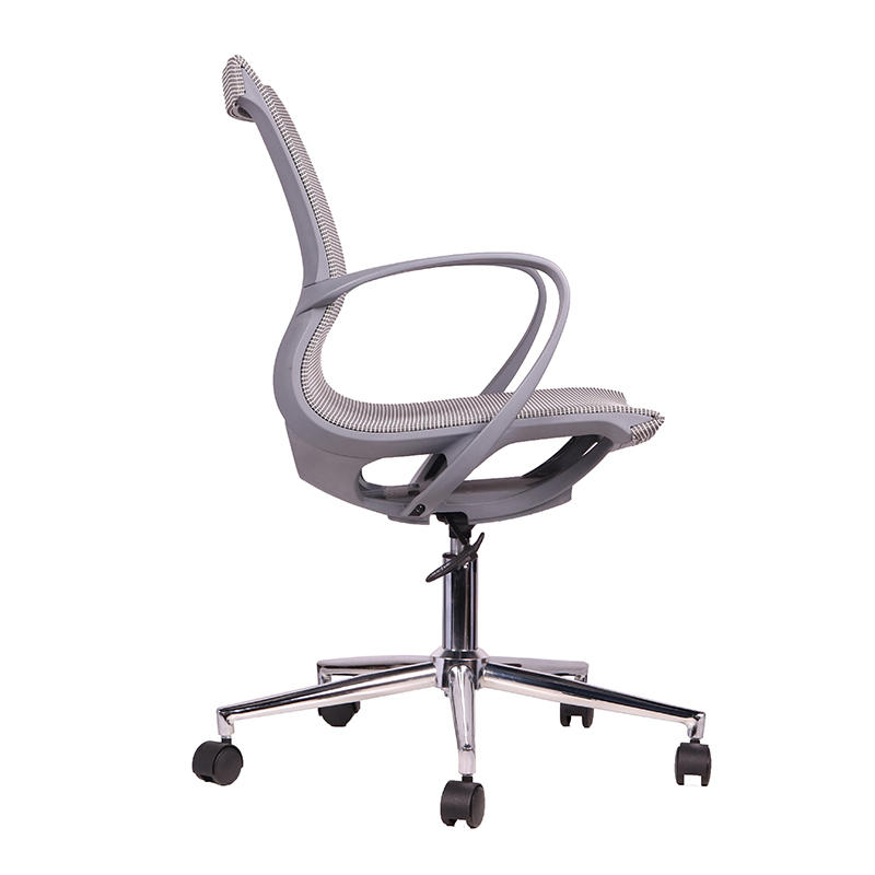 Plastic Frame Full Mesh Swivel Office Chair for Home Office