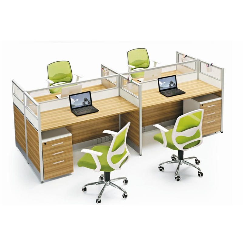 Frank Tech Office Cubicle Workstation Furniture Two or Four Person  Workstation Office Desk