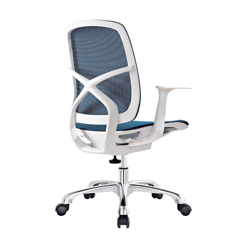 Frank Tech Mid Back Green Full  Mesh Computer Contemporary Swivel Office Chair for Project Use