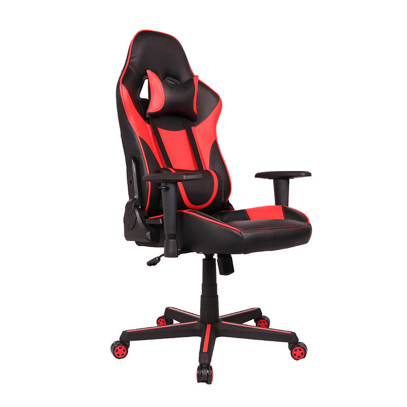 Modern office recliner computer gaming chair with footrest racing gaming chair