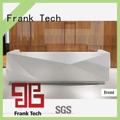 simple design modern office reception desk aluminum modular cubicles for office Frank Tech