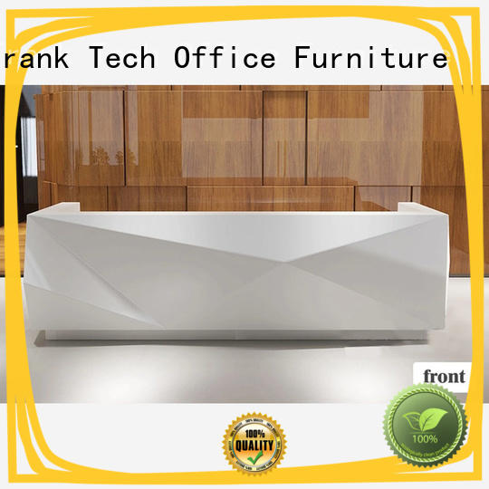 Frank Tech front office reception table open space workstation for airport