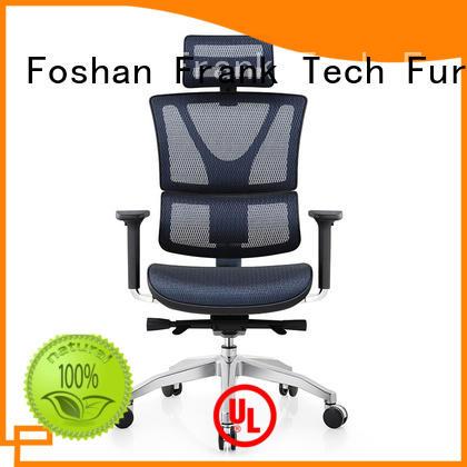 Polished Aluminum ergonomic chairs frank bulk production for hotel