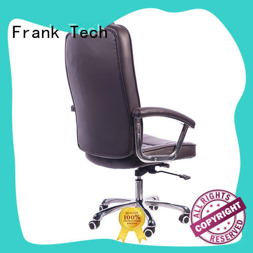 Frank Tech modern design leather swivel chair free quote for hotel