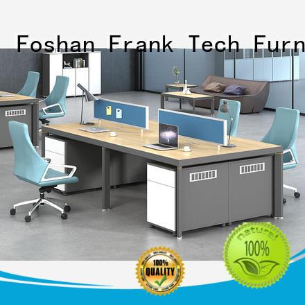 Frank Tech comfortable workstation desk Aluminum Base for hotel