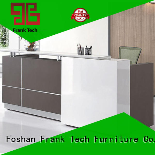 Frank Tech open office space reception counter office workstation for airport