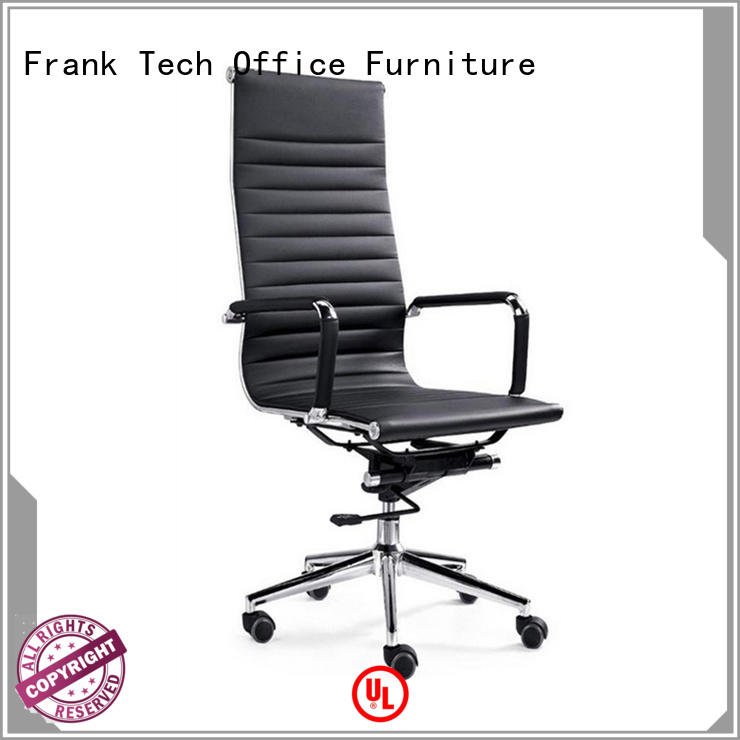 Metal Frame PU Leather Executive Office Chair
