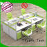 Frank Tech style modular workstation furniture at discount for office