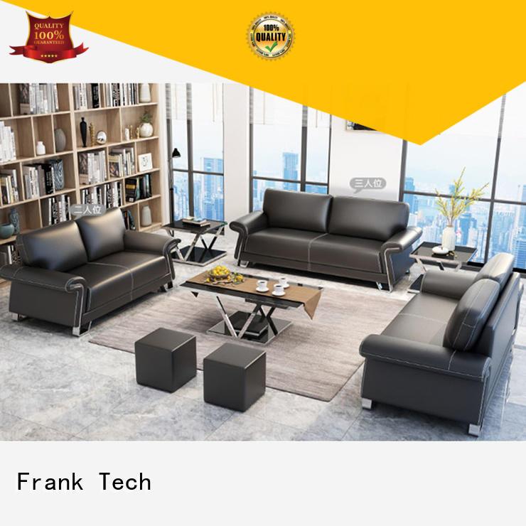 modern designs office sofa set leather Aluminum Base for hotel