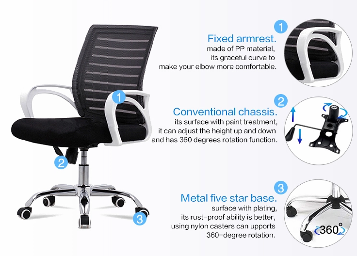 Frank Tech best mesh seat office chair China Factory for computer desk-3