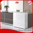Frank Tech front modern office reception desk for airport