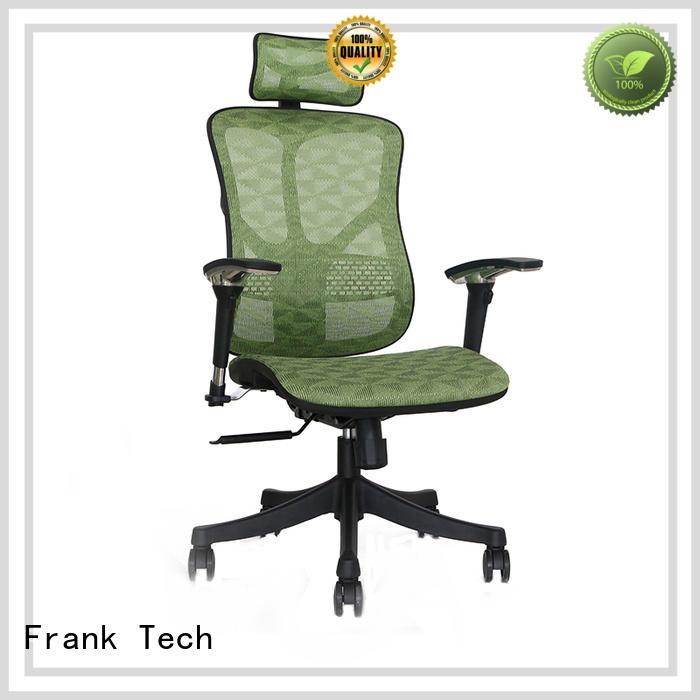staff aluminum high back ergonomic chair office Frank Tech company