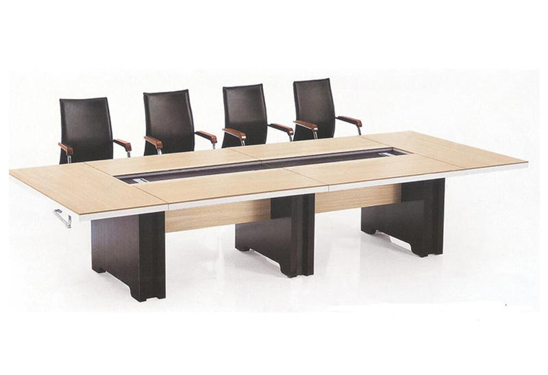 10 person wooden office meeting room table rectangular conference office table FK-6002-2