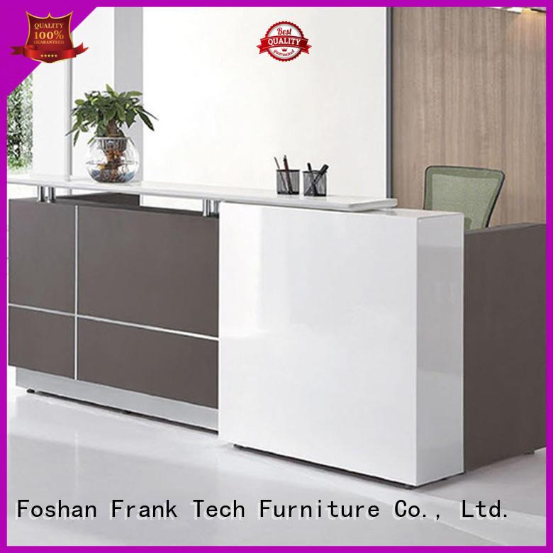Frank Tech modern modern reception desk aluminum modular cubicles for hotel