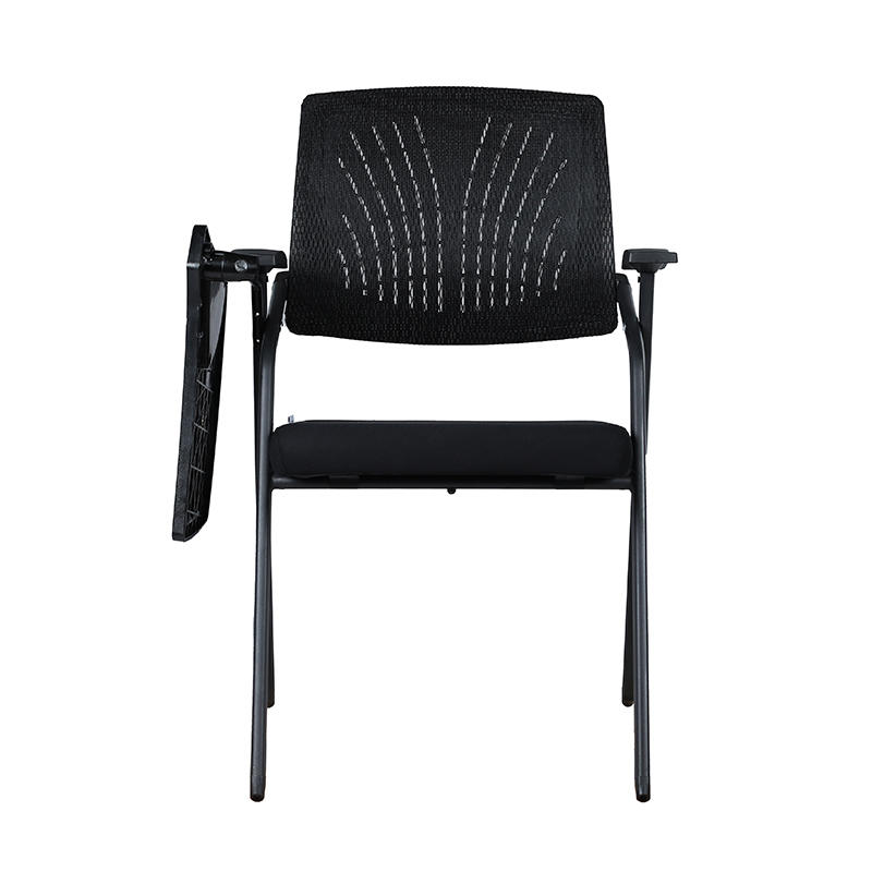 Foldable Mesh Upholstered Nesting Chair Conference Room Chair-1