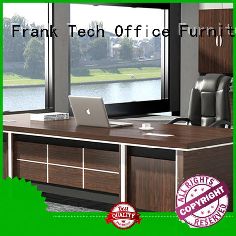Frank Tech comfortable executive office table bulk production for office