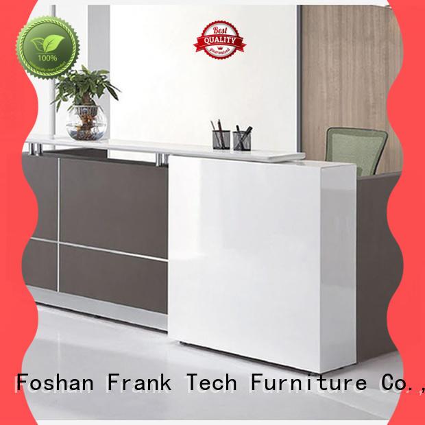 new design modern reception desk white for home