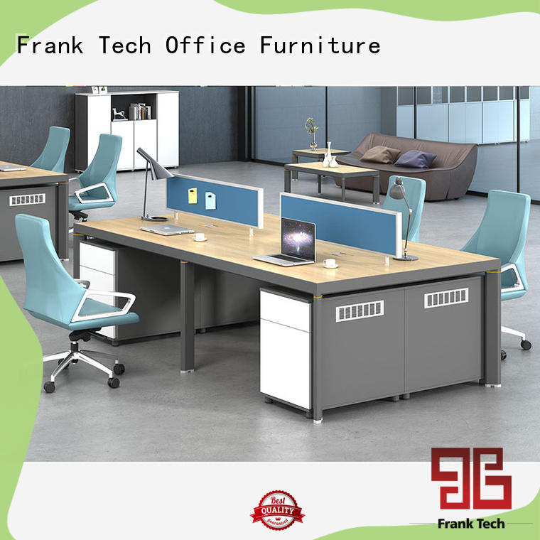 seater office workstation Aluminum Base for airport