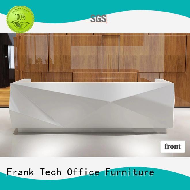 tables modern office reception desk design for hospital Frank Tech