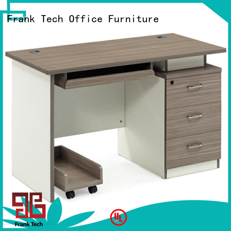 Frank Tech Modern Home Office Computer Table Wooden Office Desk