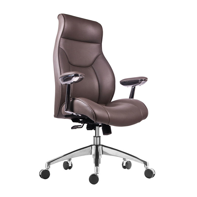 WorkWell Comfortable High Back Luxury Wooden Furniture Executive Office Chair For Boss AF-9931-3