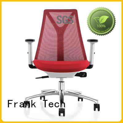 Frank Tech Polished Aluminum ergonomic chairs with sophisticated look for office